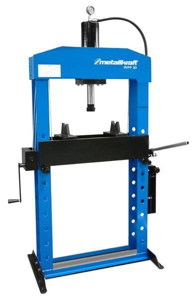 Metallkraft WPP 15 - Hydrauliczna prasa warsztatowa  z pompą ręczną