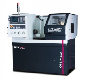 Optimum OPTIturn L 28HS - Tokarka do metalu z systemem CNC