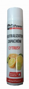 Liquid Power - Neutralizator zapachów - Cytrusy