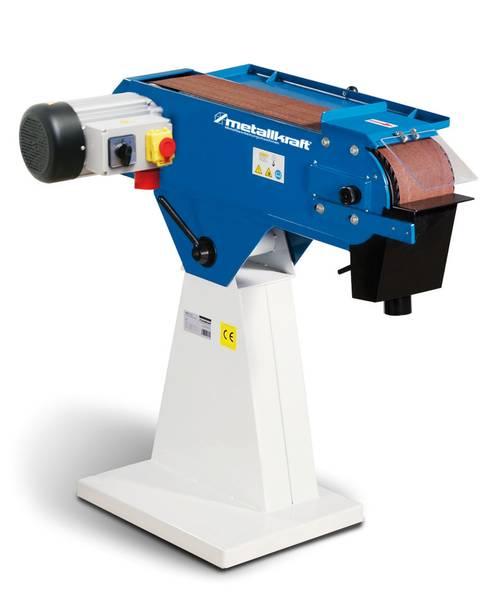 Rewelacyjny Metallkraft MBSM 150-200-2 - szlifierka taśmowa do metalu - kupuj PA83