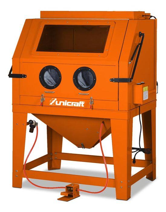 Oryginał Unicraft SSK 4, Maszyna do piaskowania metalu - Sprzedaż online JG54